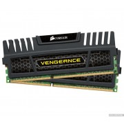 DDR3, KIT 16GB, 2x8GB, 1600MHz, CORSAIR Vengeance™ Black, CL10 (CMZ16GX3M2A1600C10)