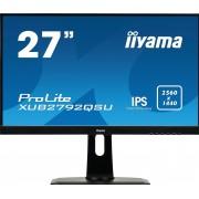 """IIYAMA ProLite XUB2792QSU-B1 - LED-Monitor - 27"""" AH-IPS - 2560 x 1440 - 60 Hz - 5 ms - 350 cd/m²"""