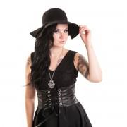 kalap női POIZEN INDUSTRIES - Vintage - Black