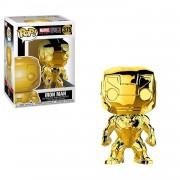 Funko POP! Bobble: Marvel: Marvel Studios 10: Iron Man (Chrome)