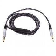 ELECTROPRIME Headphone/Headset Audio Cable w/ in-Line Remote, Microphone, Volume Control