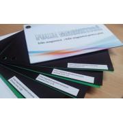 Folie magnetica autoadeziva, latime 62 cm, grosime 0,75 mm