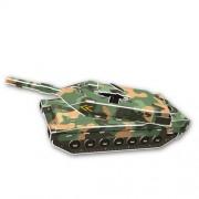 Creative DIY 3D Jigsaw Puzzle Model - Leopard 2A5 Tank 51 Pieces