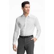C&A Businesshemd Slim Fit, Wit, Maat: 45