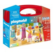 Set portabil Butic cu haine Carry Case Playmobil
