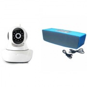 Mirza Wifi CCTV Camera and Box-2 Bluetooth Speaker for SAMSUNG GALAXY NOTE EDGE(Wifi CCTV Camera with night vision |Box-2 Bluetooth Speaker)