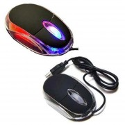 Wired Gaming Mouse Para PC Portátil Con DPI Switch (negro)