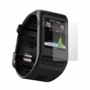 Set 4 Folii Protectie Ecran Acoperire Totala Adezive si Foarte Flexibile Invisible Skinz Ultra-Clear HD pentru Garmin Vivoactive HR