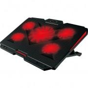 "Postolje za laptop Xtrike FN-807 17"" sa 5 ventilatora 2xUSB"