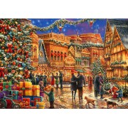 Puzzle Bluebird - Chuck Pinson: Christmas At The Town Square, 2.000 piese (70057)