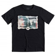 Quiksilver T-shirt enfant Quiksilver Morning Session noir