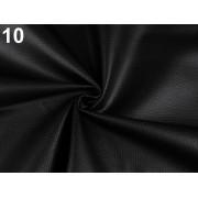 Ekobőr anyag táskákhoz, dekorációkhoz, 140cm/0.5m, fekete, 380735-10