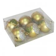 Novogodišnji ukras kugle 6kom 281360