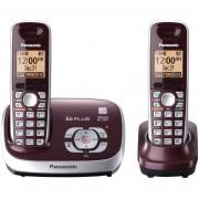 Teléfono Panasonic Inalámbrico KX-TG6572R DECT 6.0