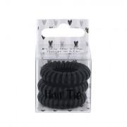 2K Hair Tie spirálovité gumičky do vlasů odstín Black pro ženy