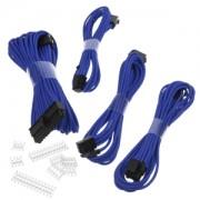 Set cabluri prelungitoare Phanteks, cleme incluse, 500mm, Blue