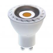 COB 8 LED SMD 5630 8W GU10 teplá biela