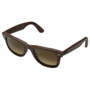 Ray-Ban RB2140QM 50mm Leather Brown