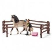 SCHLEICH Set za negu konja Andeluzijska 42270