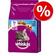 Whiskas pienso para gatos 3,6/3,8 kg ¡con gran descuento! - 1+ Sterile con salmón (3,6 kg)