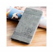 Flip Funda Case Con IPhone 6 Plus/6s Plus Carcasa De Ecocuero - Gris