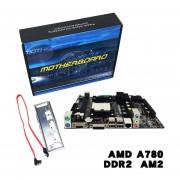 Un Ordenador De Sobremesa780 Tarjeta Madre 780G Soporte De Placa Base CPU AM3 DDR3 Multicolor