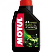 Motul Deutschland GmbH Motul 5100 4T 10W40 Motorenöl , Hochleistungsmotorenöl mit speziellen Additiven für die Getriebeschmierung, 1000 ml - Kanister