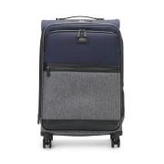 【50%OFF】バイカラー スーツケース M グレーマルチ 旅行用品 > スーツケース