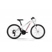 Haibike SEET HardFour Life 1.0 - white/red/anthracite - Mountain Bikes 30