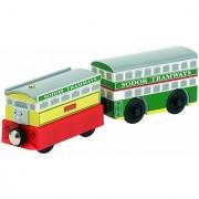 Thomas & Friends Wooden Railway - Flora & Tram