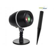 Proiector LED Laser pentru Exterior sau Interior tip cu Lumini Rosii si Verzi