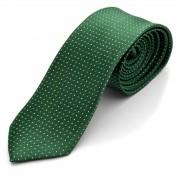 Tailor Toki Cravate verte à pois