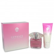 Bright Crystal by Versace Gift Set -- 3 oz Eau De Toilette Spray + 3.4 oz Body Lotion