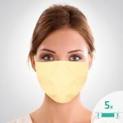 Mască facială de protecție din bumbac,,