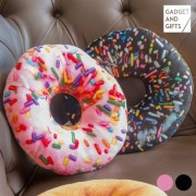 Donut Kudde Svart