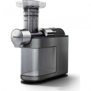 Philips Смилаща сокоизстисквачка Avance Collection MicroMasticating До 90% извличане, Бързо почистване за 60 сек, Металична фина