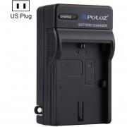 Puluz US Plug Cargador De Bateria Para Canon LP - E6 Battery