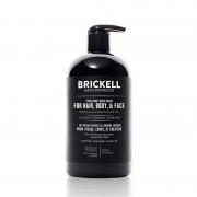 Brickell Fresh Mint All In One Wash 16 oz / 473 mL Skin Care