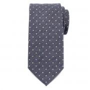 Férfi klasszikus nyakkendő (minta 356) 7171 -tól keverékek hullámdovod és selyem