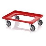 Socepi Carrello porta contenitori 61,5x41,5 cm Ruote 4 ruote girevoli in gomma