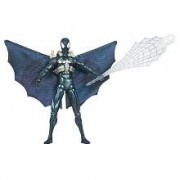 SpiderMan 2010 Series Three 3 3/4 Inch Action Figure Black SpiderMan with Glider