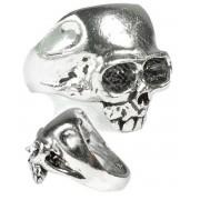 prsten Skull - Alchemy Gothic - R6
