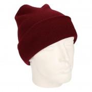 Beechfield Basic winter muts bordeaux rood