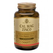 Solgar Linea Minerali Cal Mag Zinco Integratore Alimentare 100 Tavolette