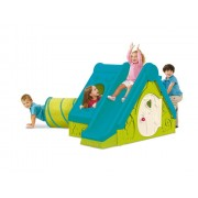 Keter Funtivity speelhuis 240x160x104 cm - groen/blauw