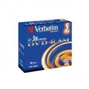 DVD-RAM 3X 4.7GB MATT JEWEL CASE 5, pret pe bucata