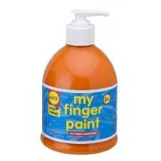 ALEX Toys Artist Studio Pump Finger Paint, Orange