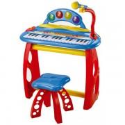 Orga electronica Bontempi cu 31 clape scaun si microfon