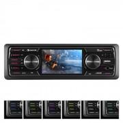 "MD-550BT Leitor Auto-Rádio/Monoceptor s/Leitor de CD BT USB SD 3""TFT AUX Controlo Remoto"