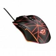 Мишка Trust GXT 160 Ture Illuminated, оптична (4000dpi), USB, RGB подсветка, черна